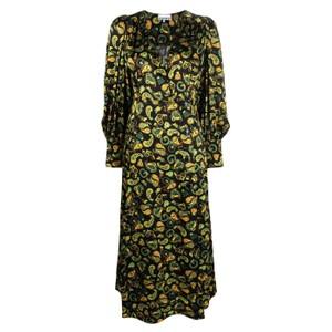 ペイズリー柄ドレス