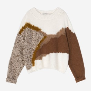 ジャガードセーター