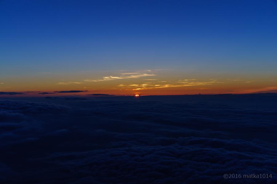 富士山登山御来光!