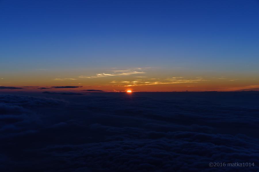 富士山登山御来光来たー!