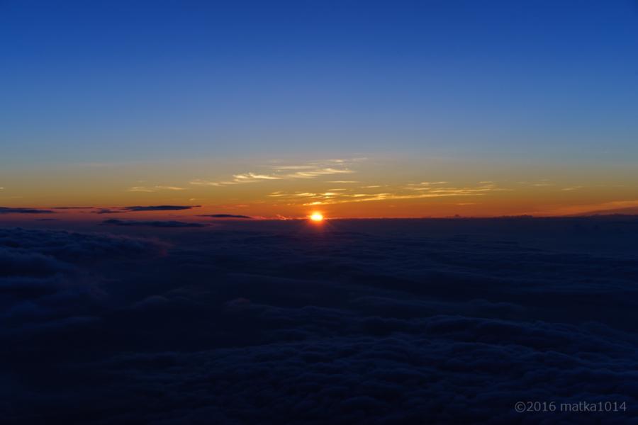 富士山登山御来光来たー!1