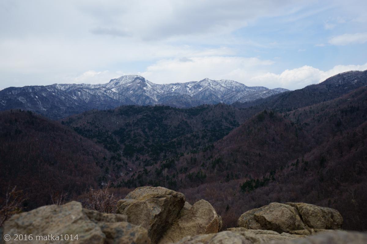 八剣山山頂からの眺め1