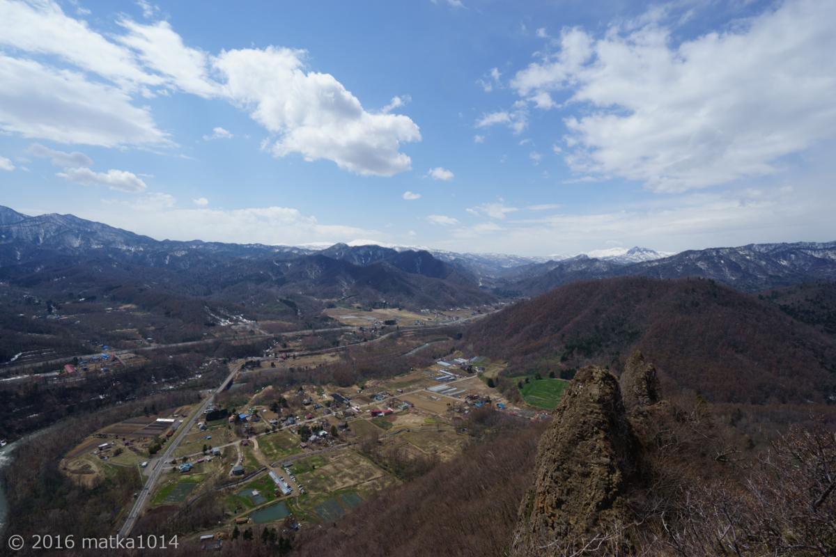 八剣山山頂からの眺め ニセコ方面