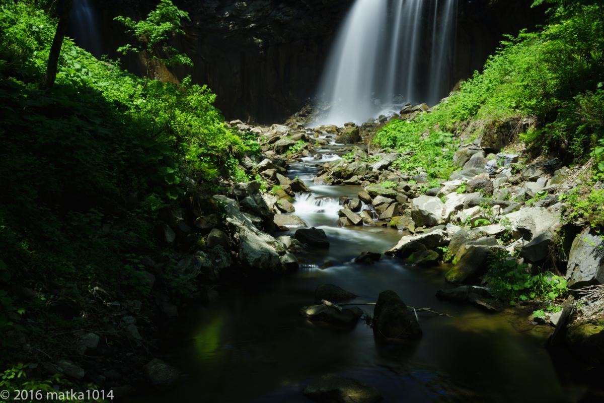 NDフィルターで撮るアシリベツの滝