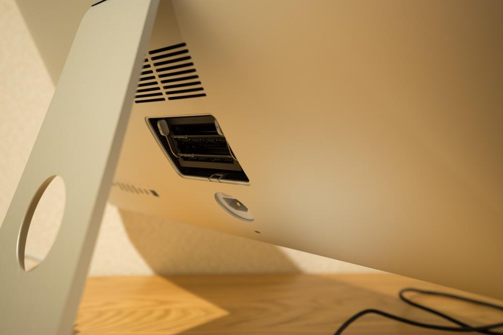 iMacのメモリを増設