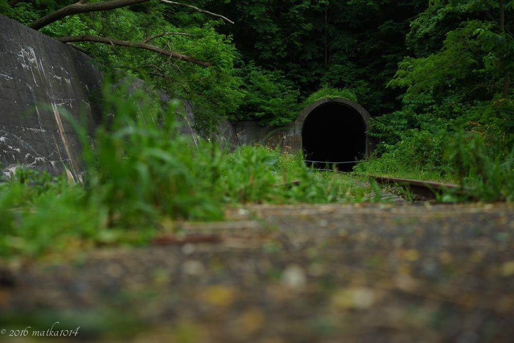 栗山トンネル(廃線)