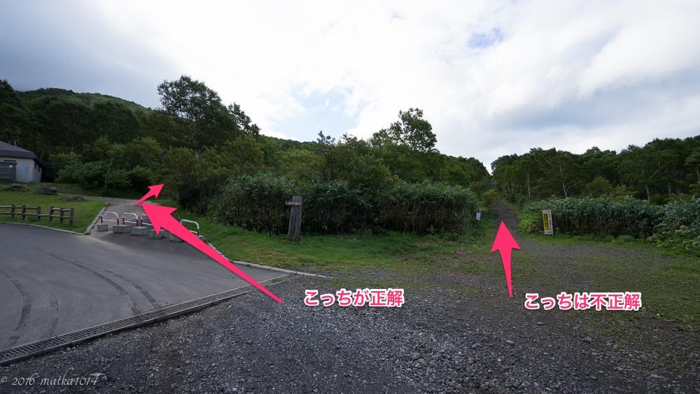 ニセコアンヌプリ登山口