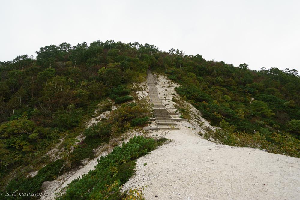 イワオヌプリ登山口