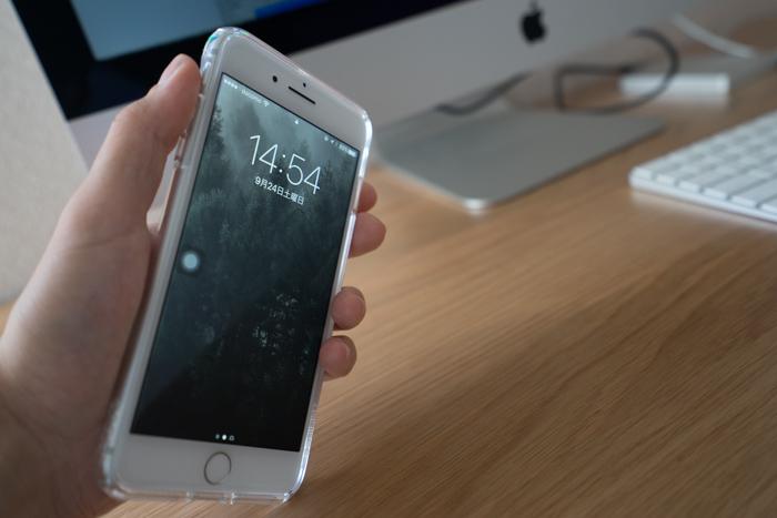 iPhone 7 Plusの手持ち
