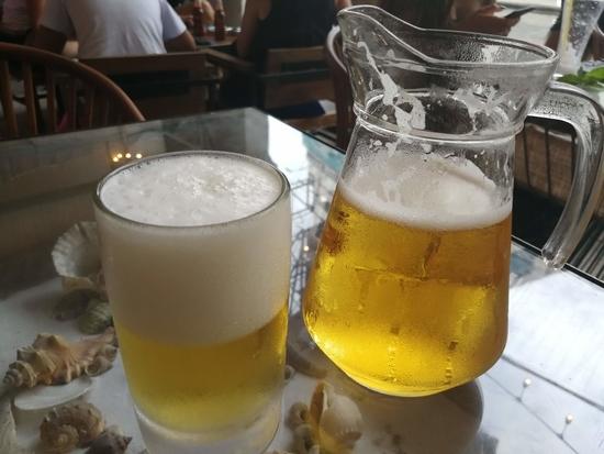 ビールのピッチャー