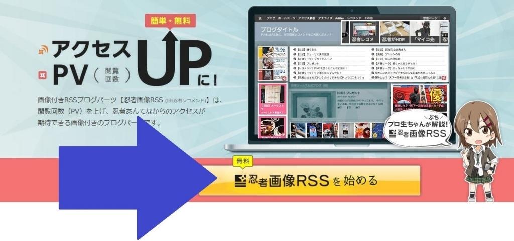 忍者画像RSS 作成