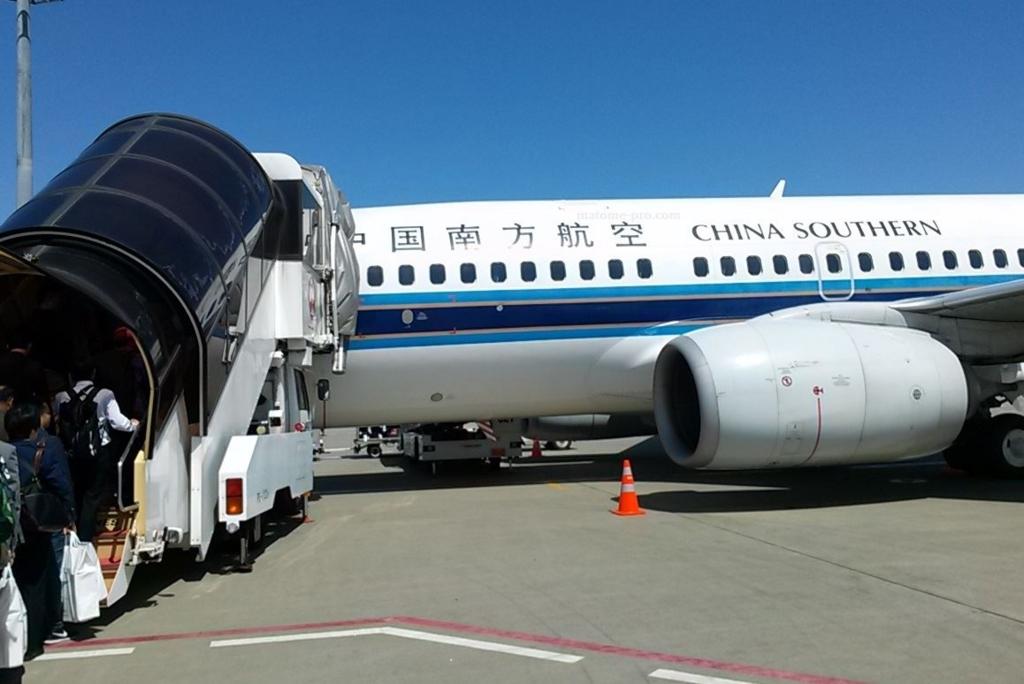 中国南方航空 飛行機