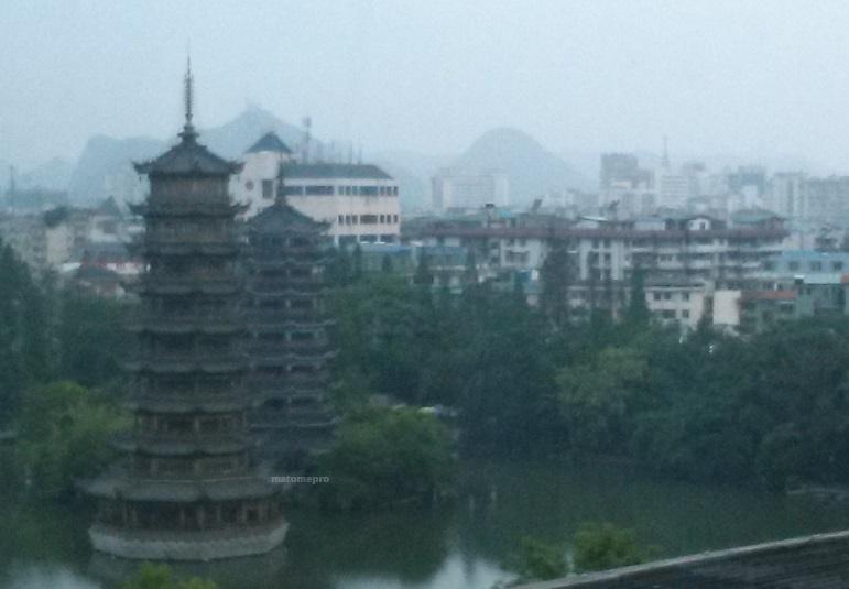 大瀑布飯店 窓からの景色