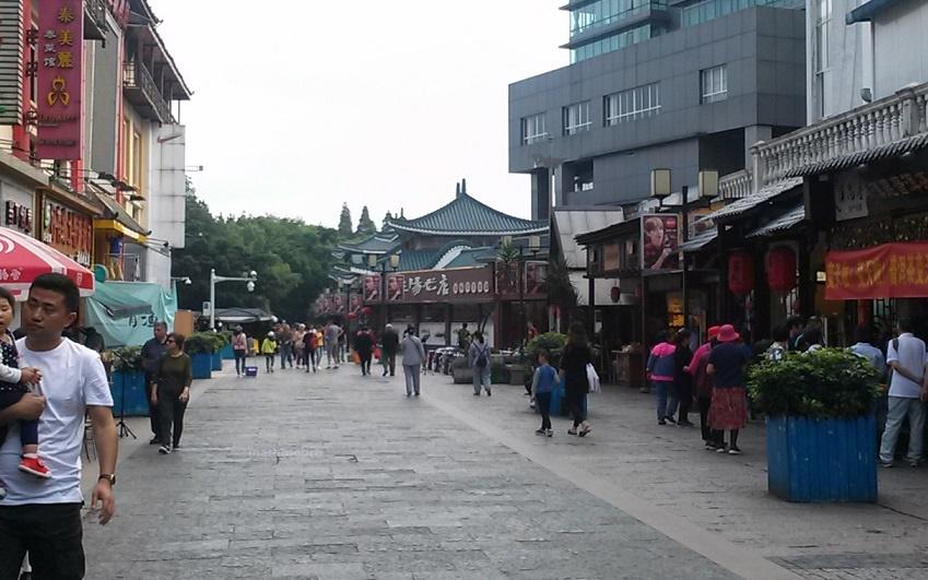 桂林 城内 散策