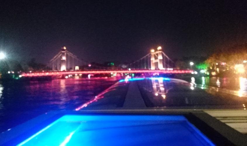 両江四湖 ナイトクルーズ 橋の画像