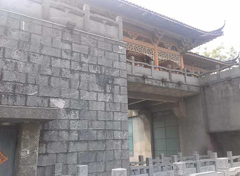 木龍湖公園 城壁