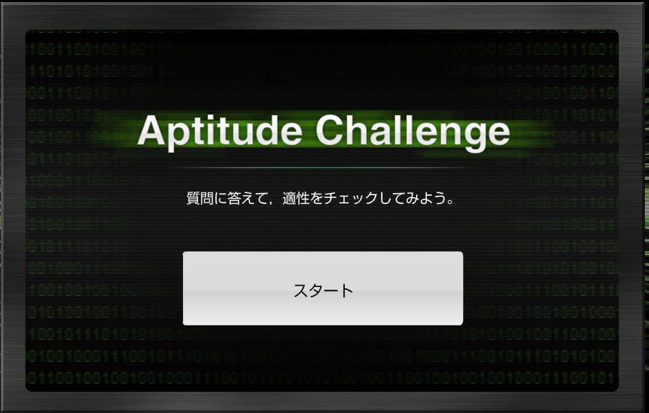 Aptitude Challenge 公安調査庁