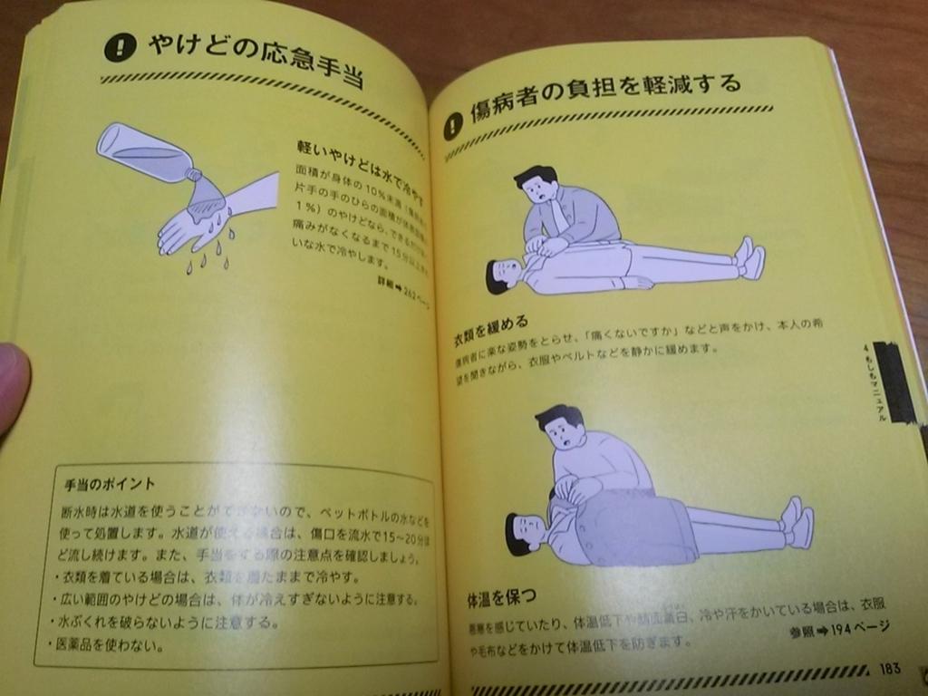 東京防災 内容5