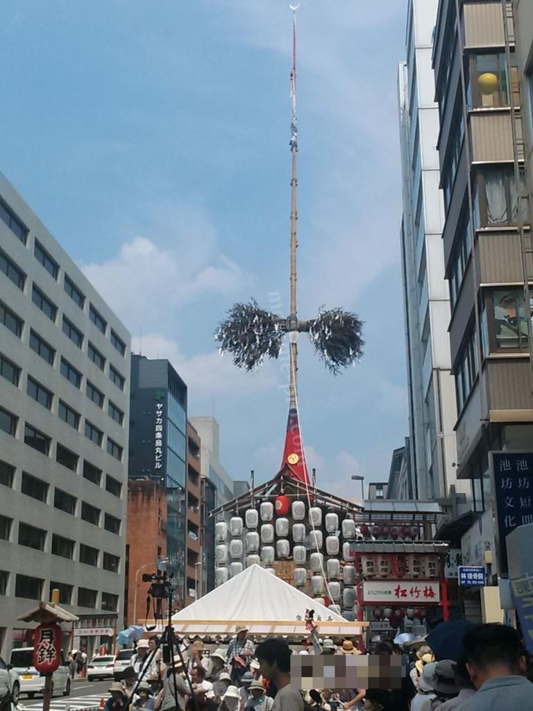 京都祇園祭 月鉾の外観