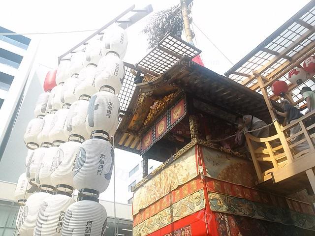 京都祇園祭 月鉾 近影