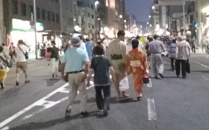 祇園祭 宵山 カップル