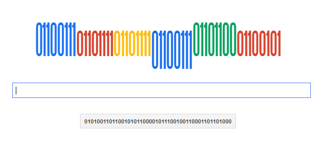google binary 画像
