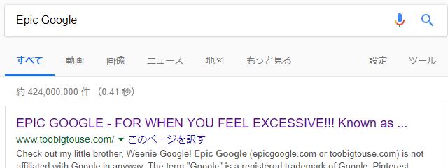 EPIC GOOGLE 検索コマンド