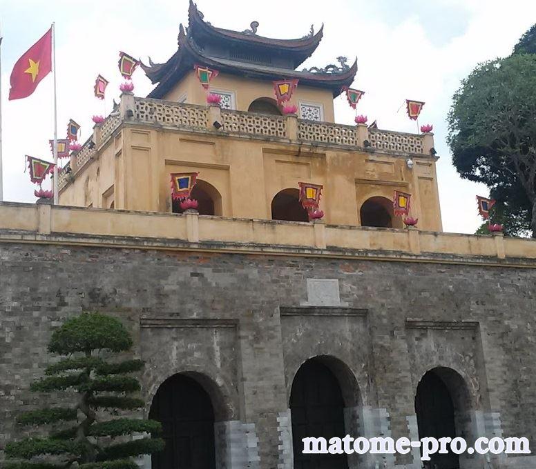 タンロン遺跡 ベトナム