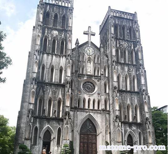 ハノイ大教会 ベトナム