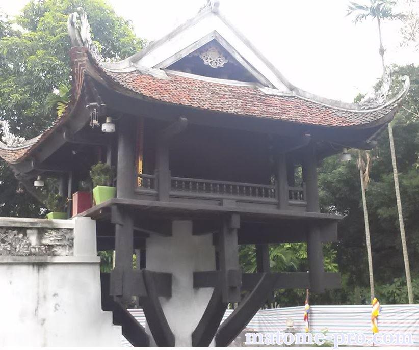 一柱寺 ベトナム