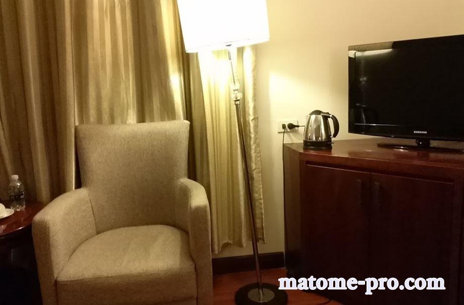 ネスタホテル ベトナム 客室内2