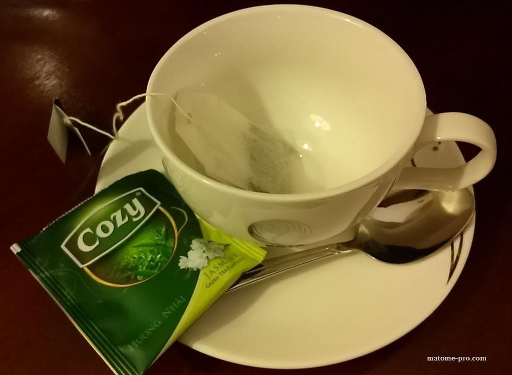 お茶 ハノイネスタホテル