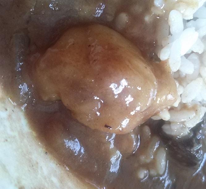 北海道ビーフカリー ジャガイモと見せかけてニンニク