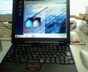 中古の ThinkPad T20