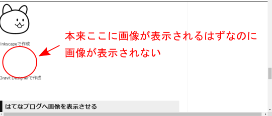 SVG表示の不具合