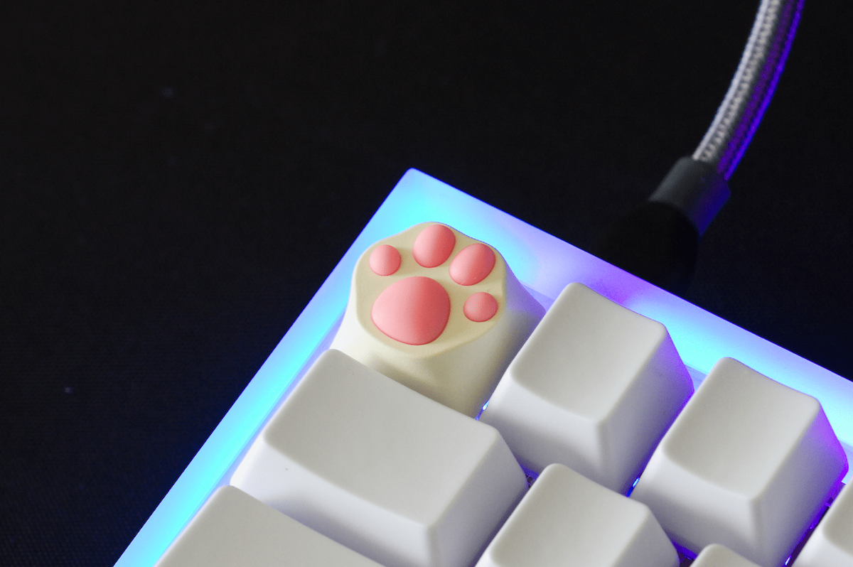 ZOMOPLUS Cat Paw KeyCAP