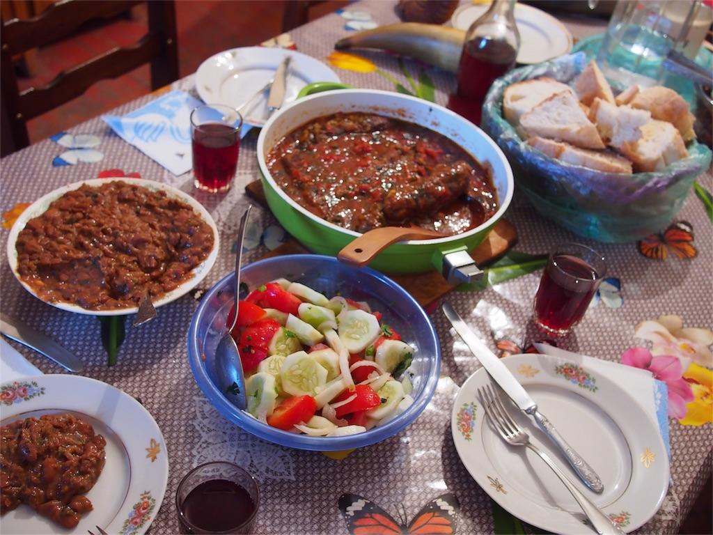 ジョージアの家庭料理
