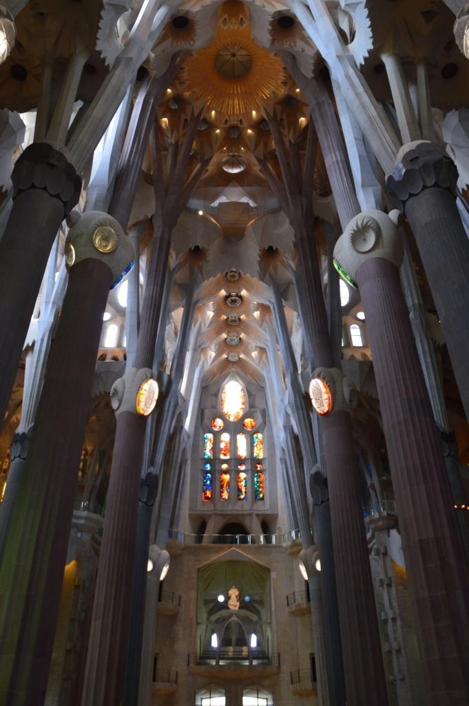 サグラダ・ファミリア聖堂内部