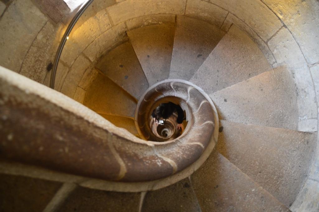 サグラダ・ファミリアの螺旋階段