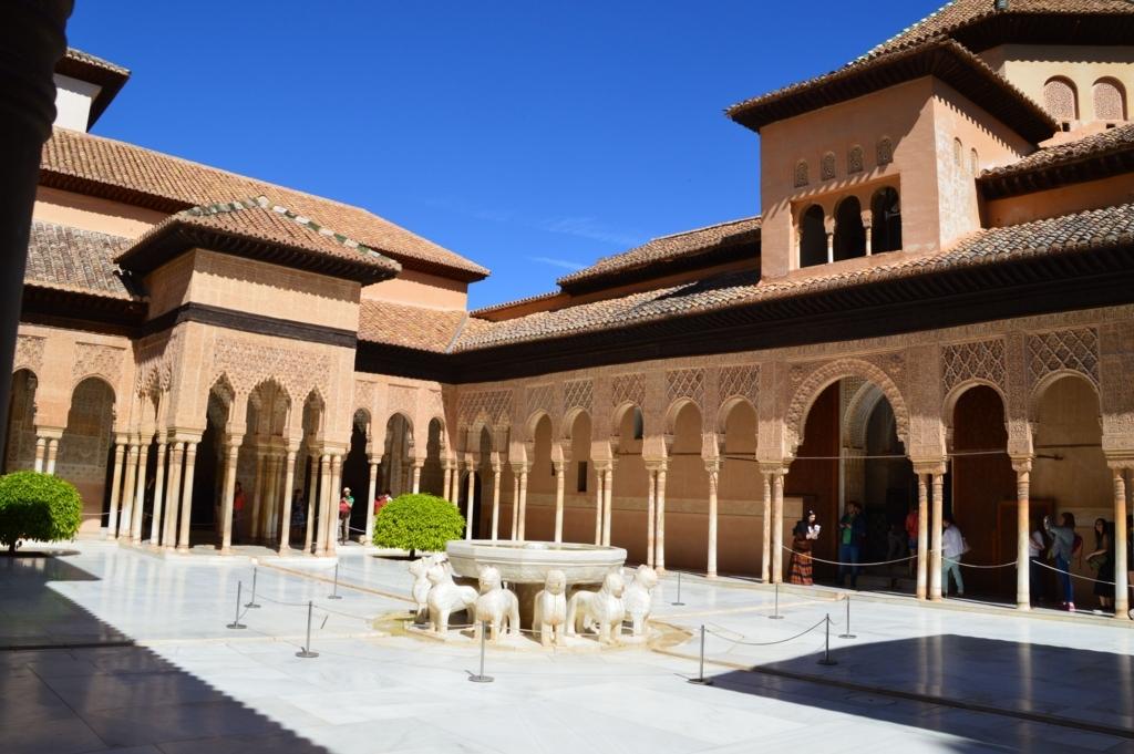 アルハンブラ宮殿・ナスル宮殿