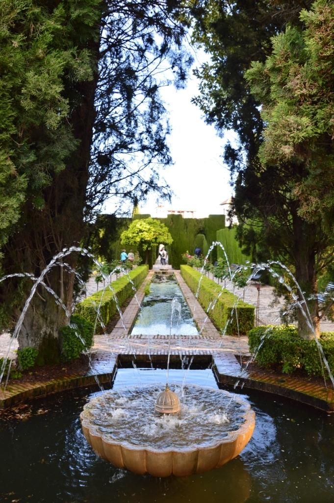 アルハンブラ宮殿・ヘネラリフェ