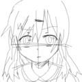 美少女キャラをイメージして描いてみた( ˘ω˘  )