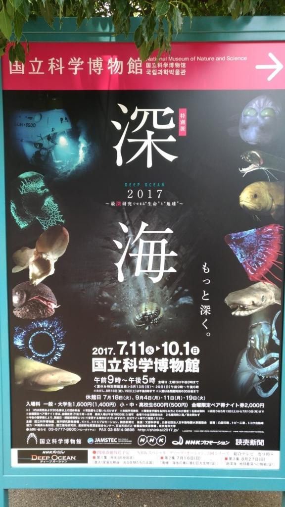 【国立科学博物館】深海 ~もっと深く~ 2017年【特別展】