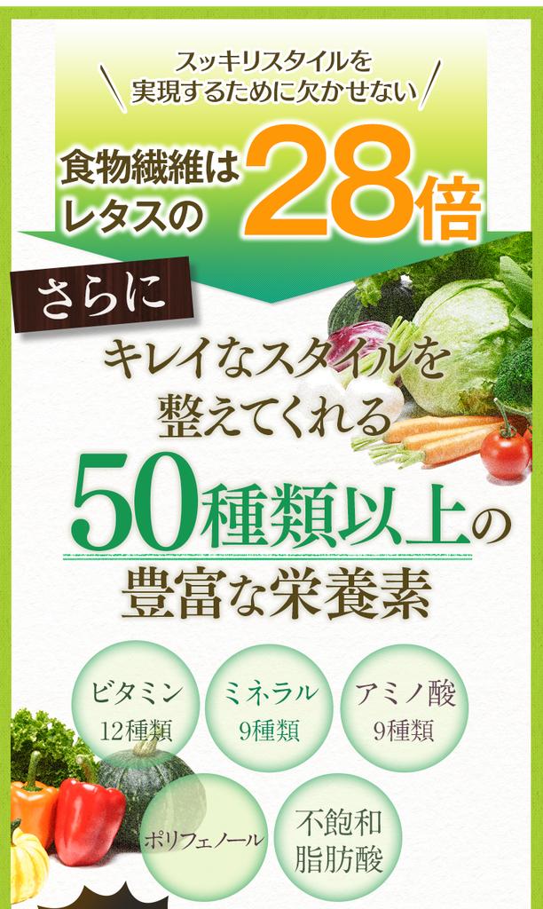 モリンガ 豊富な栄養素