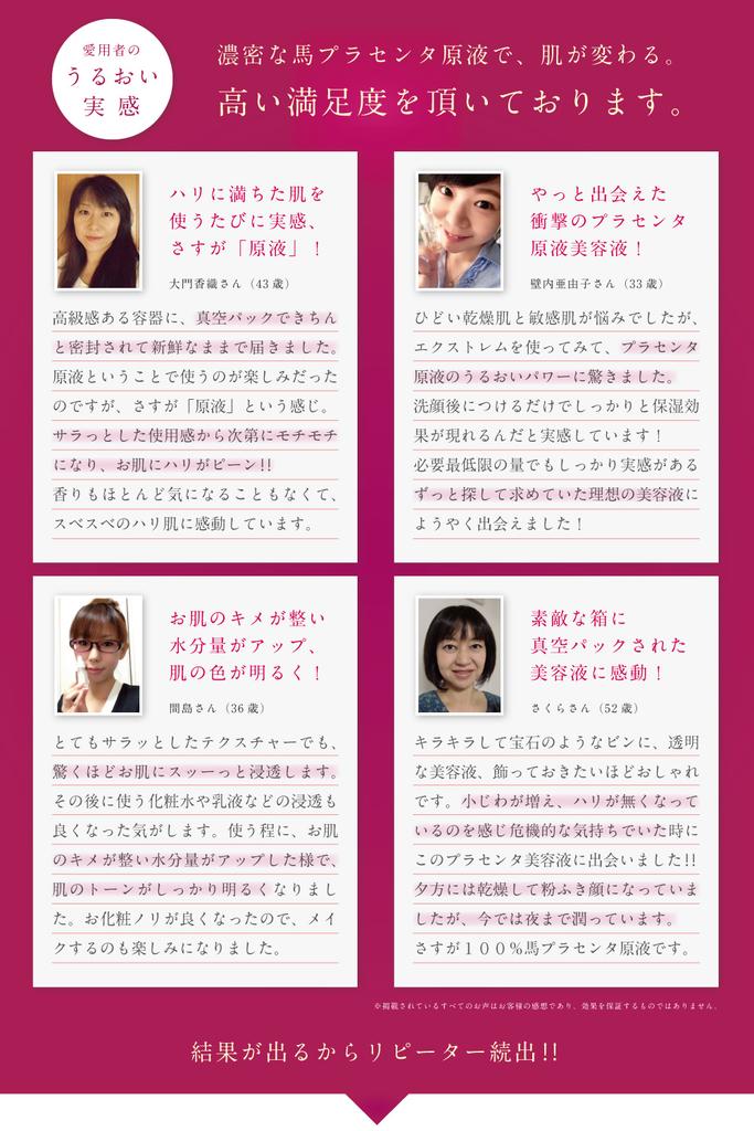 プラセンタファインエクストレム 美魔女グランプリの山田佳子さんも愛用 馬プラセンタブランド