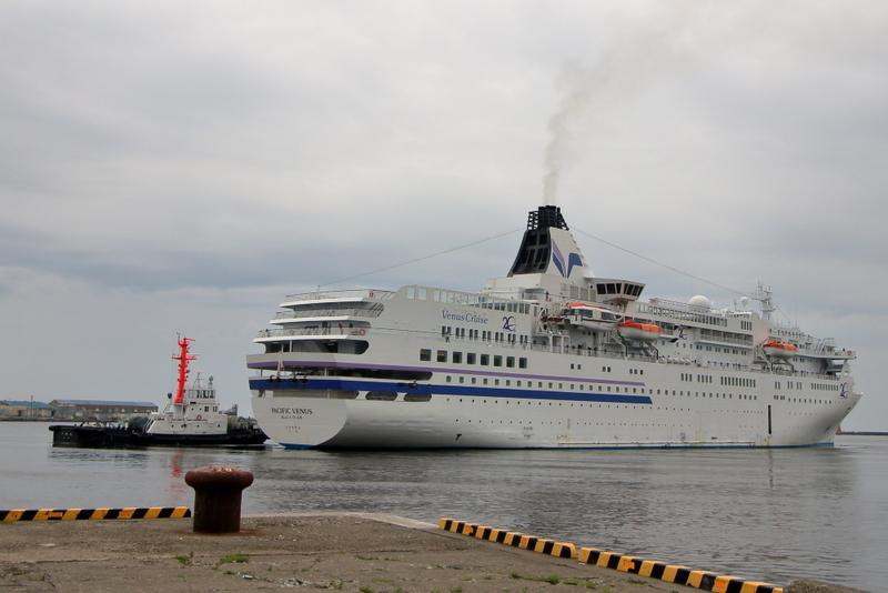 釧路中央埠頭のぱしふぃっくびいなす