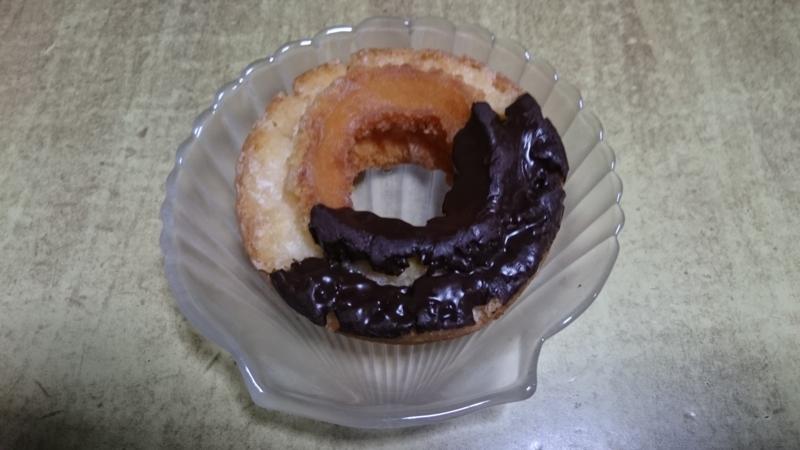 オールドファッションドーナツ チョコ2