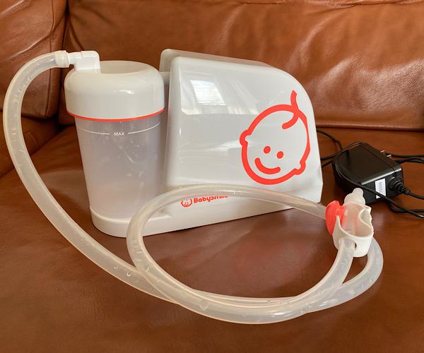 ベビースマイル電動鼻吸い器