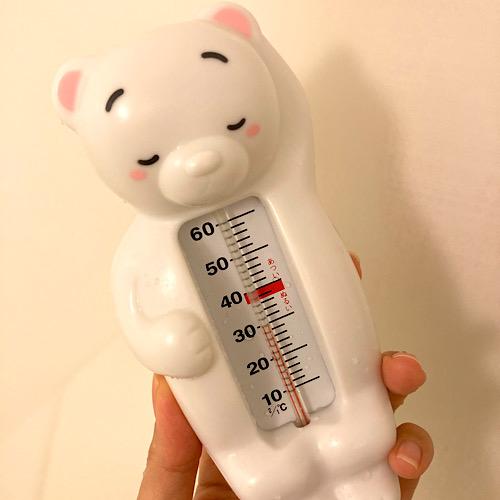 赤ちゃん お風呂 温度計