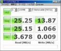 3/7 CFリーダでシリコンパワーCF32GB測定